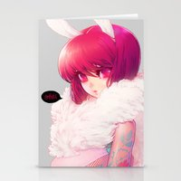 barachan Stationery Cards featuring synthetic by barachan