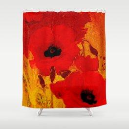 FLOWERS - Mellow yellow Shower Curtain