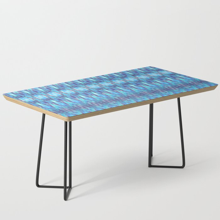 Jewel Tone Ikat Coffee Table