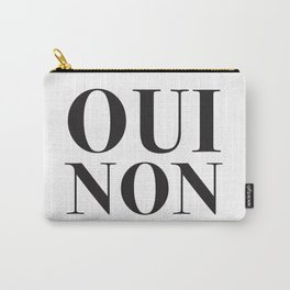 OUI NON Carry-All Pouch