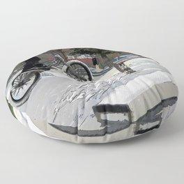 """""""Getting Air"""" - BMX Rider Floor Pillow"""