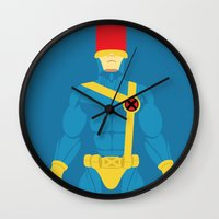 cyclops Wall Clocks featuring Cyclops by gallant designs