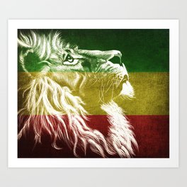 King Of Judah Art Print