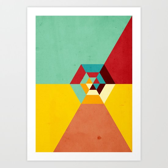 Summer Road Art Print