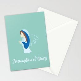 Assumption of Mary - Nossa Senhora dos Navegantes - Blessed Virgin Mary Stationery Cards