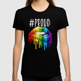 Proud LGBT Mom Perfect Christmas Gift T-shirt
