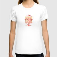 spain T-shirts featuring Spain Crest by George Williams