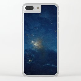 Psalm 136:9 Clear iPhone Case