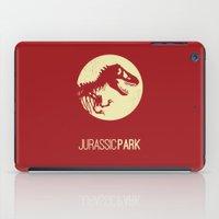 jurassic park iPad Cases featuring Jurassic Park by :: Fan art ::
