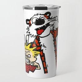 Calvin and Hobbs BFF Travel Mug