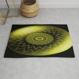 Solar Plexus Yellow Chakra Rug