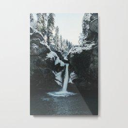 Buchenegger Wasserfälle Metal Print