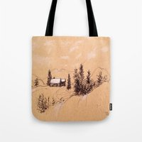 switzerland Tote Bags featuring Switzerland by Heather Hartley