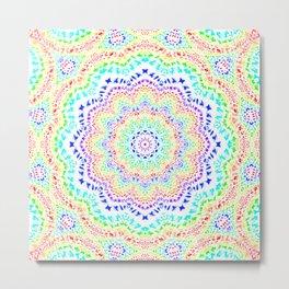 Rainbow Kaleidoscope 2 Metal Print