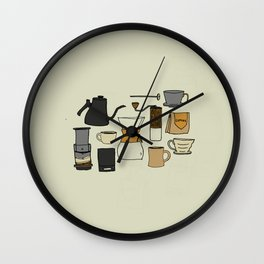 All The Methods Wall Clock