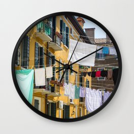 Out to Dry Wall Clock