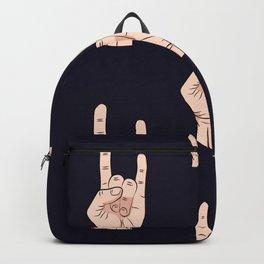Rock Hands Backpack