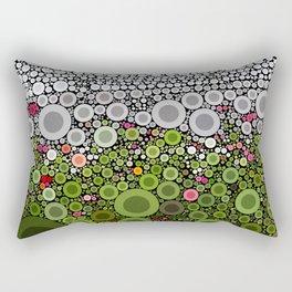 FLORAL DOTS Rectangular Pillow