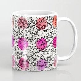 Dotty Jellyfish Coffee Mug