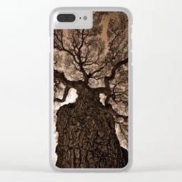 The Live Oak Clear iPhone Case