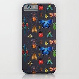 Entomology (Black) iPhone Case