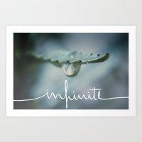 infinite Art Prints featuring Infinite by Galaxy Eyes