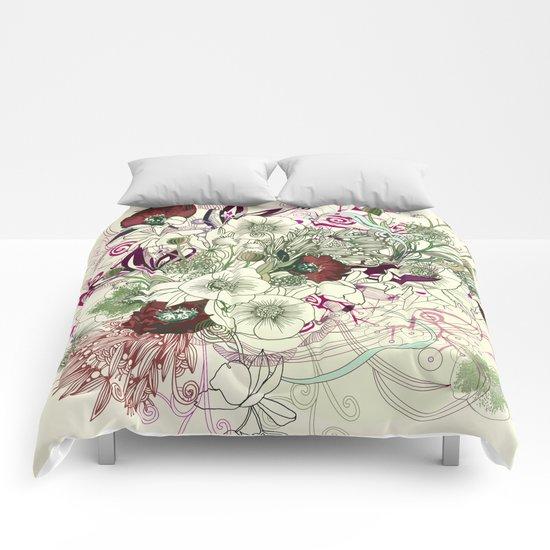 Zentangle Floral mix II Comforters