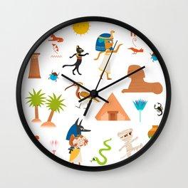Ancient Egypt Wall Clock