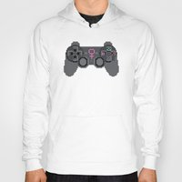video games Hoodies featuring Support Women in Video Games by Inappropriately Adorable