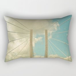 Over the Bridge Rectangular Pillow
