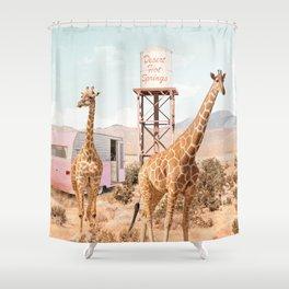 Desert Hot Springs Shower Curtain