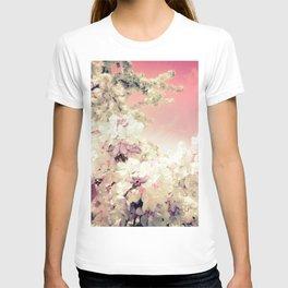Pink Lavender Flowers T-shirt