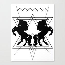trash unicorns Canvas Print