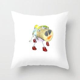 Piggy`s Wife ;) Throw Pillow
