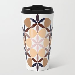 Flower of life - colored Travel Mug