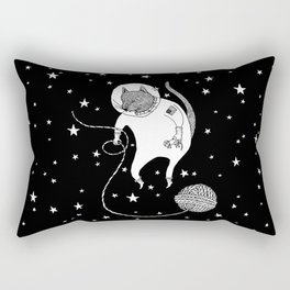 Space Cat Proves String Theory Exists Rectangular Pillow