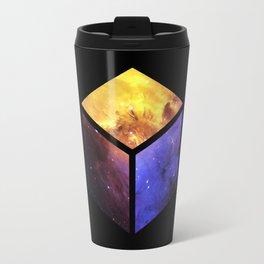 Nebula Cube - Black Travel Mug