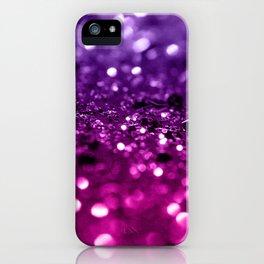 Pink Purple Lady Glitter #1 #shiny #decor #art #society6 iPhone Case