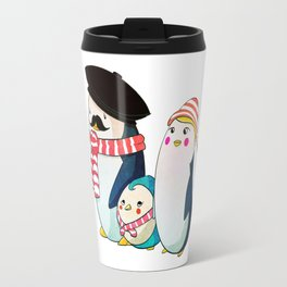 Penguin family Travel Mug