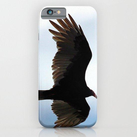 Turkey Vulture in Flight iPhone & iPod Case
