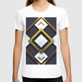 Light Dark and Gold 01 T-shirt