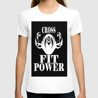 crossfit T-shirts featuring CROSSFIT POWER  by Robleedesigns