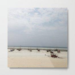 #279 Zanzibar Landscape Metal Print