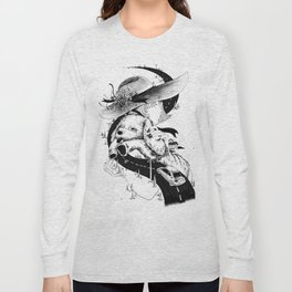 Girl and Dog Long Sleeve T-shirt