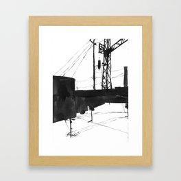 Railway IV Framed Art Print