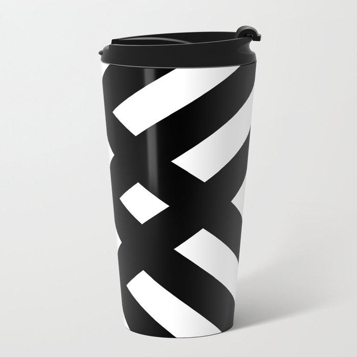 dijagonala v.2 Metal Travel Mug