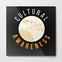 Cultural Awarness Microbiology Chemistry Metal Print