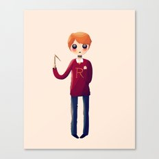Little Ron Canvas Print