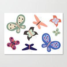 Beautiful Butterflies Canvas Print