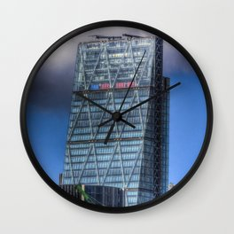 The Cheese Grater London Wall Clock